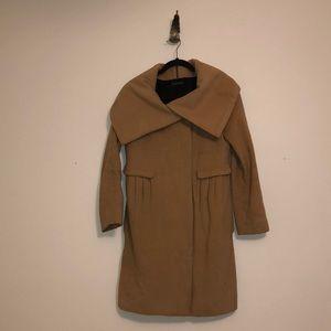 DVF Camel Winter Coat